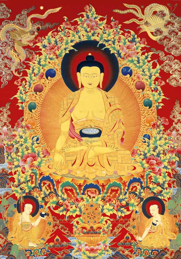 the buddha shakyamani